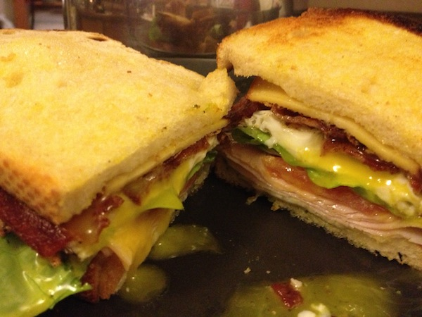 spanglish BLT sandwich adam sandler