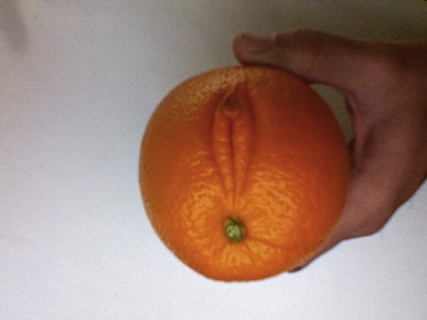 Fruit that looks like vulva