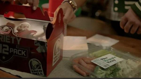 The Taco 12 Pack vs. Veggie Sticks