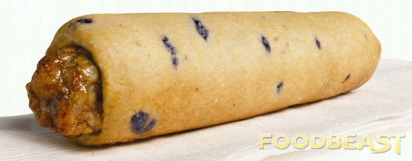 Here's a Glimpse of 7-Eleven's New Blueberry Pancake Sausage