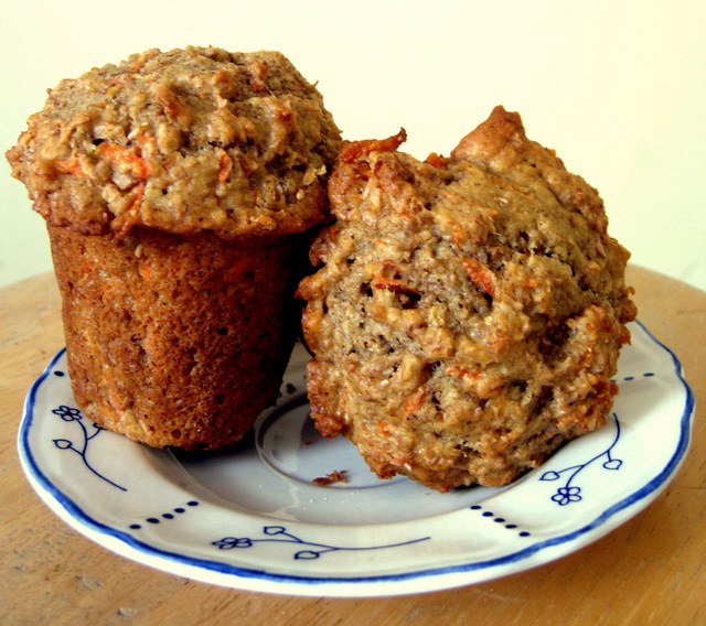Carrot Bran Cupcakes