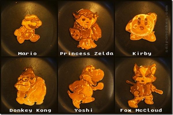 Nintendo Pancakes