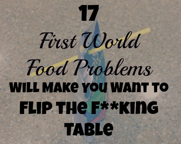 first world food problems-photo