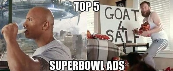 The Top 5 Foodie Ads of Superbowl XLVII