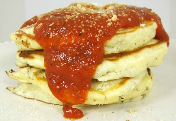 pizza pancakes