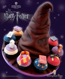 Harry-Potter-Cake-and-Cupcakes
