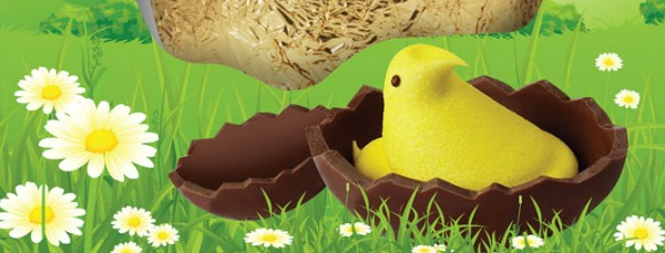 PEEPS chocolate egg