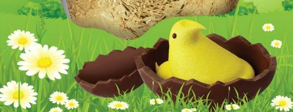 PEEPS chocolate egg