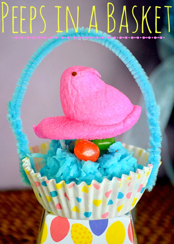 Peeps-in-a-basket-with-coconut-nests