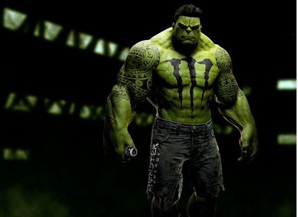 Tatted Hulk