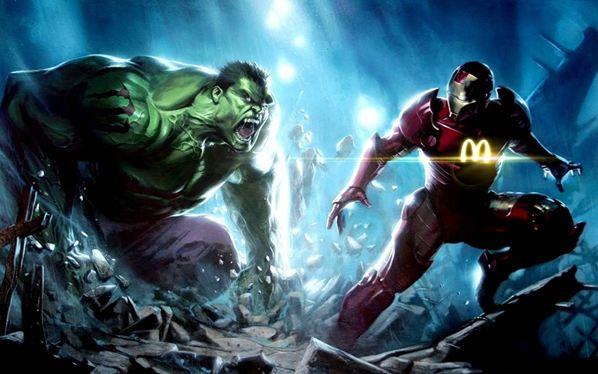 The Monster Hulk Energy Drink and McIron Man