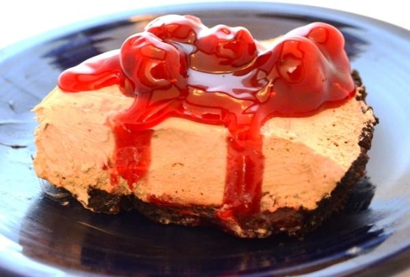 Black Forest Frosting Pie