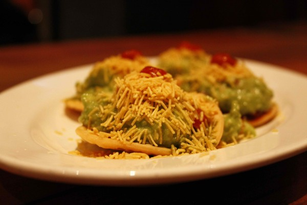 Guac Sev Puri Curry Up Now San Fransisco
