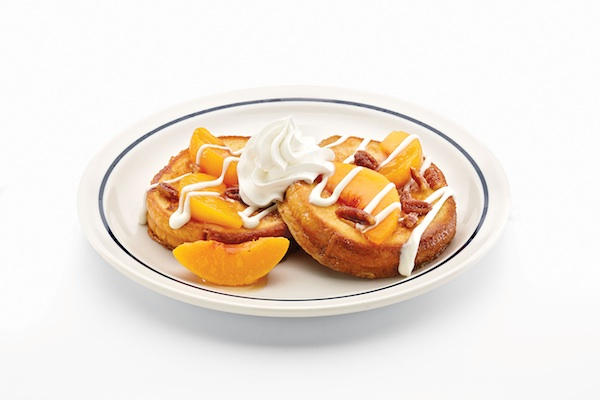 Peaches Cream Brioche French Toast