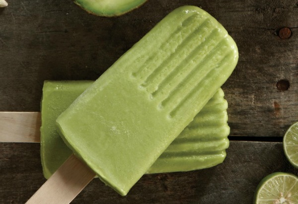... sprint down the street, here's a recipe for creamy Avocado Ice Pops