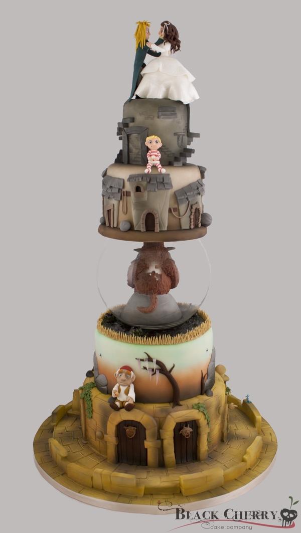 Labryrinth Wedding Cake