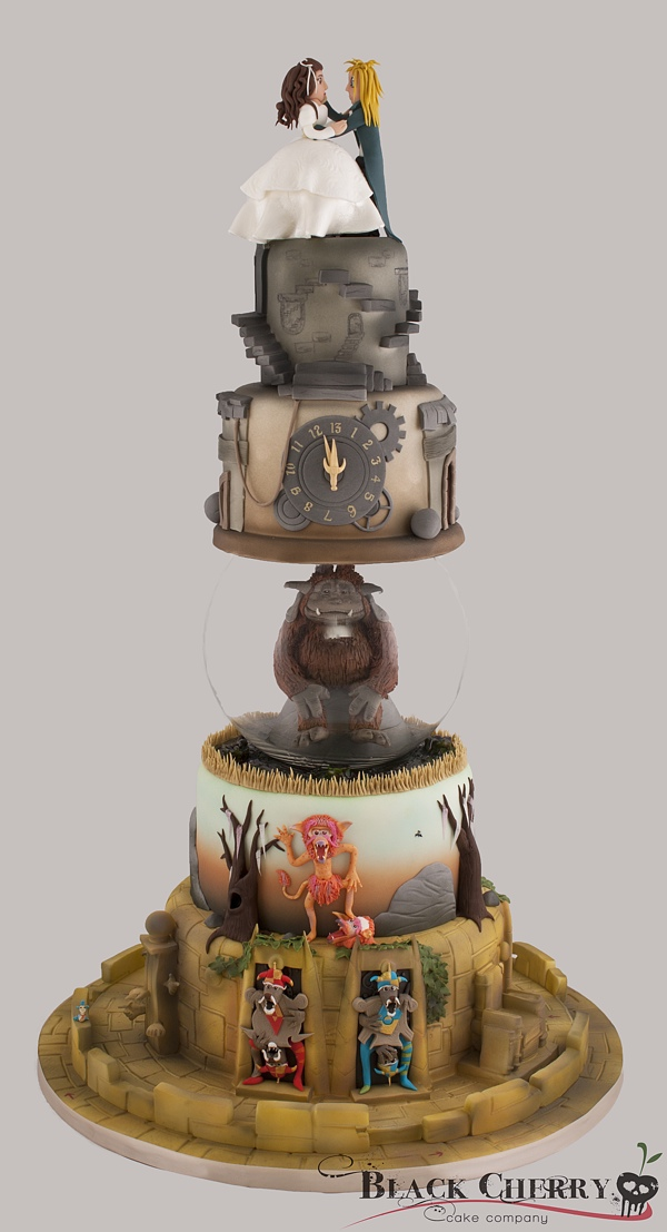 Labyrinth Wedding Cake Is Six Tiers Of Awesome