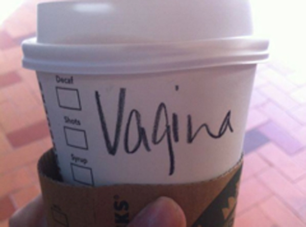 starbucks vagina