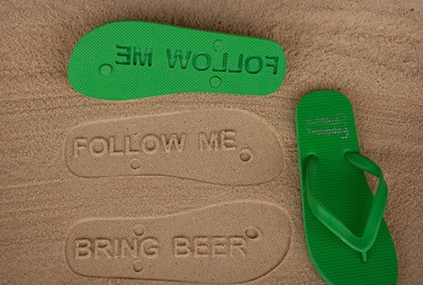 Beer-Flip-Flops
