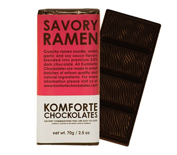 Savory Ramen Chocolate Bar
