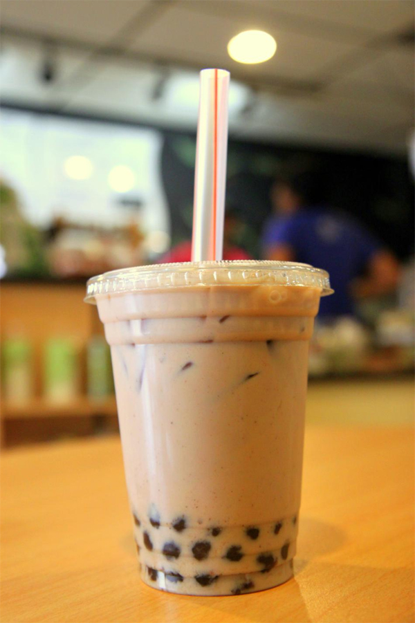 how to get rid of bubbles in a chai latte