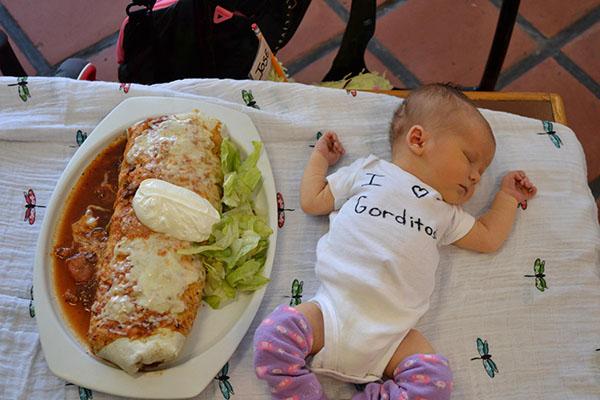 baby burrito Gorditos