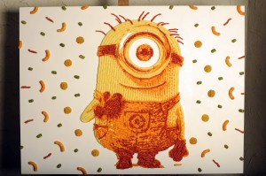 Artist Jason Baalman's Despicable Me 2 Minion Portrait