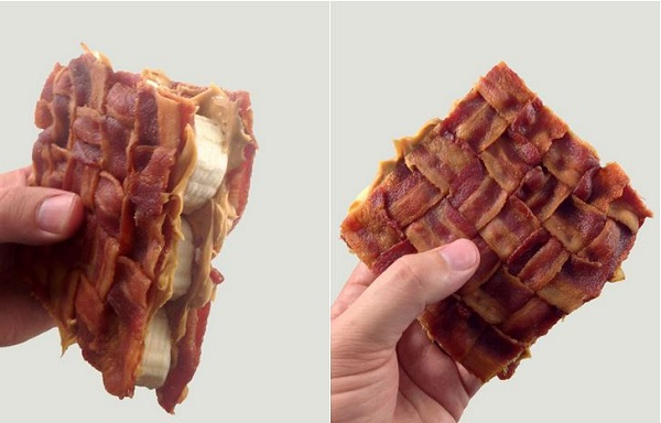 The Bacon Weave Elvis Sandwich