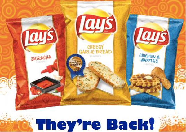 Fried Chicken And Waffles Lays Chicken and waffle lay's