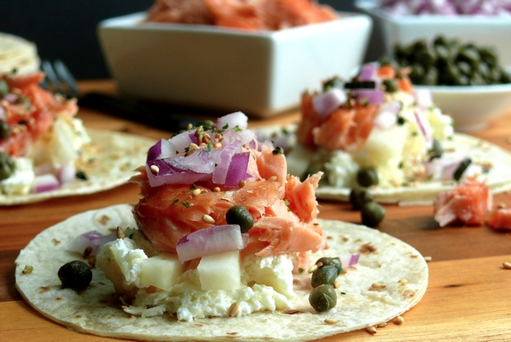 smoked-salmon-brunch-taco
