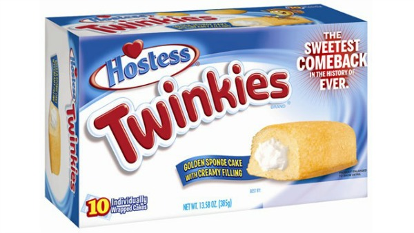 twinkies to be frozen