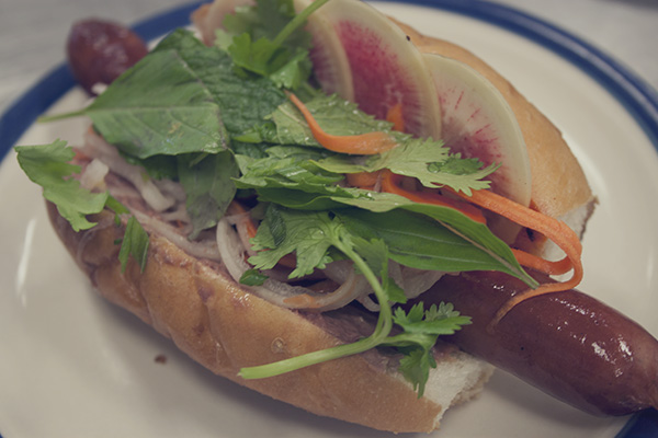 Try This Banh Mi Dog Drizzled With House-Made Sriracha at the ...