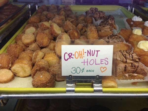 cronut holes