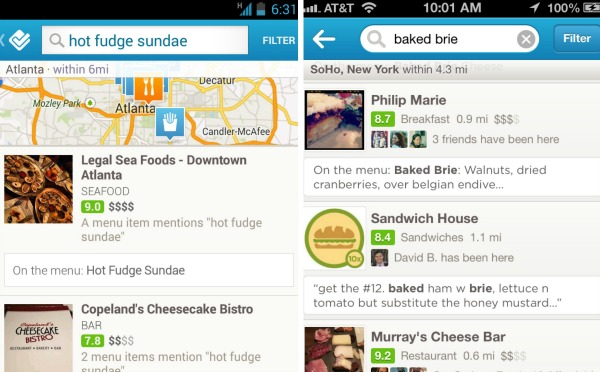 foursquare-item-search